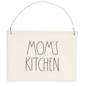"Rae Dunn Artisan Collection ""Mom's Kitchen"" Plaque"